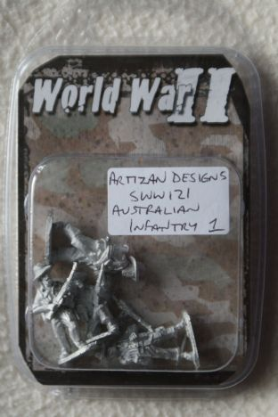 Artizan Designs 28mm SWW121 Australian Infantry Pack 1